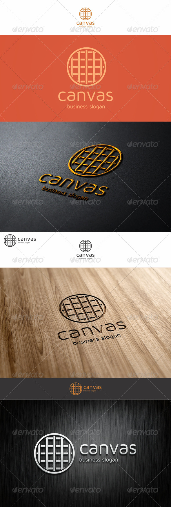 Canvas Logo Template - Symbols Logo Templates