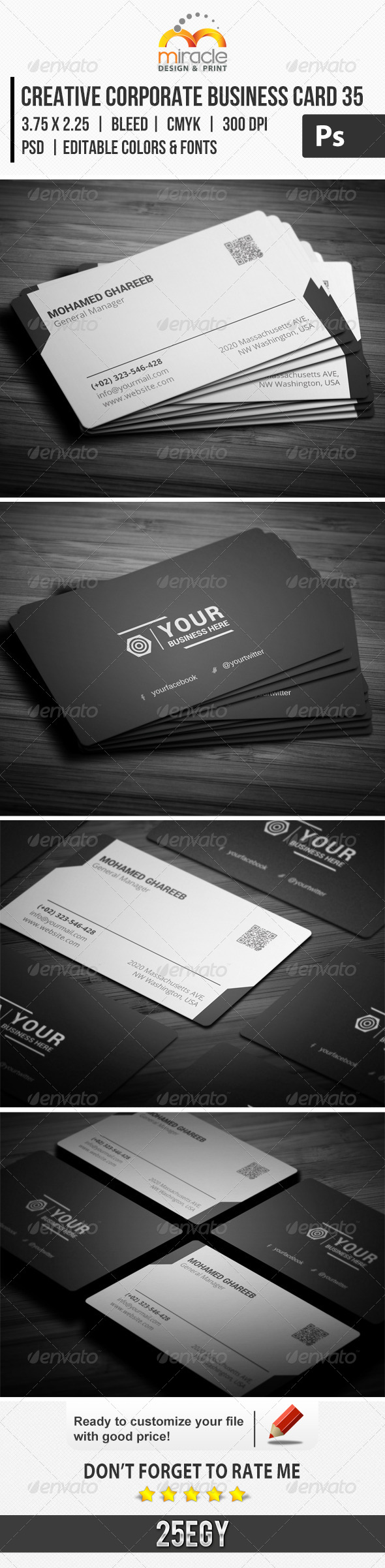 GraphicRiver Creative Corporate Business Card 35 7028794