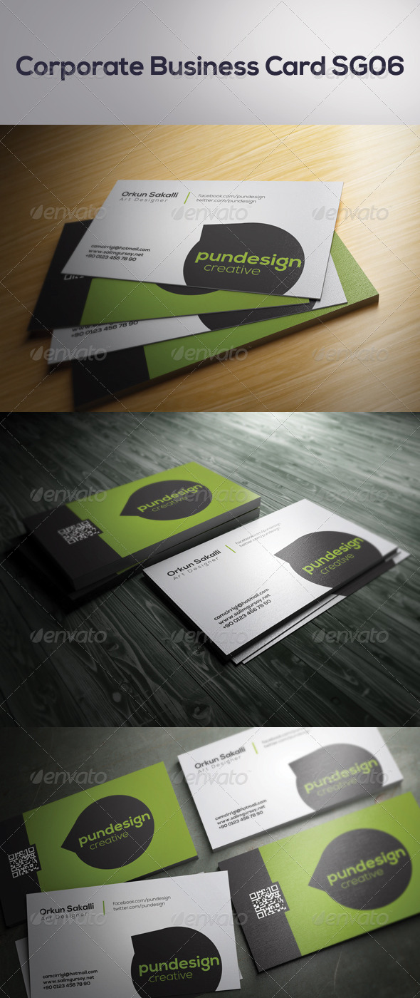 GraphicRiver Corporate Business Card SG06 7028806