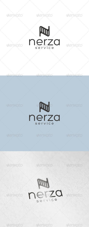GraphicRiver Nerza Logo 7029096