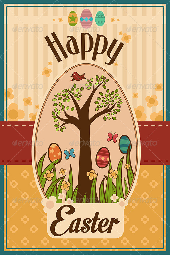 GraphicRiver Easter Design 7029754