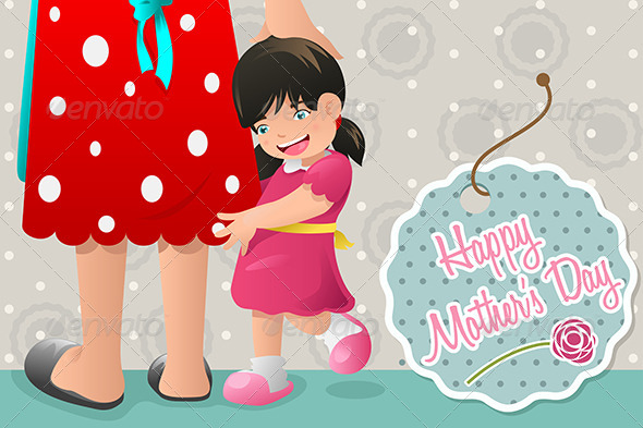 GraphicRiver Mothers Day Card Design 7029814