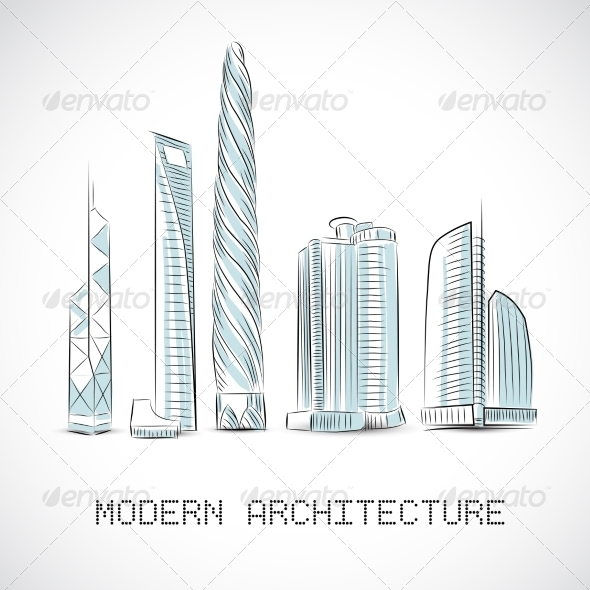 GraphicRiver Skyscrapers 7029924