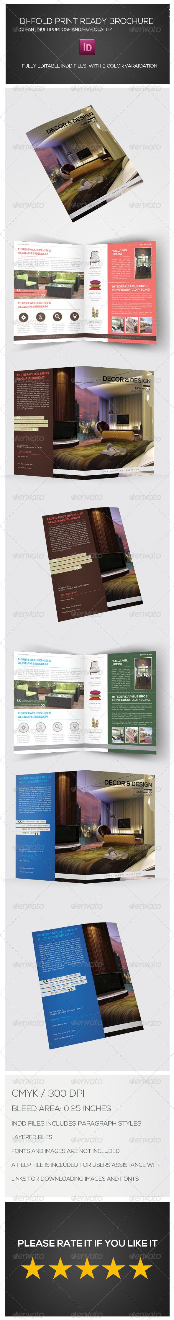GraphicRiver Bi-fold Brochure 7030065