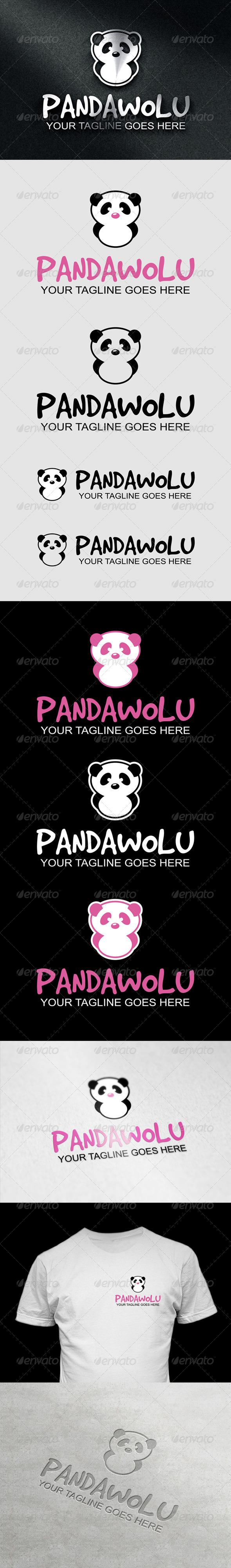 GraphicRiver PandaWolu Logo 7030160