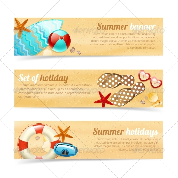 GraphicRiver Holiday Banners 7030162