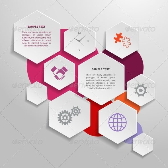GraphicRiver Paper Business Infographics Design Elements 7030165