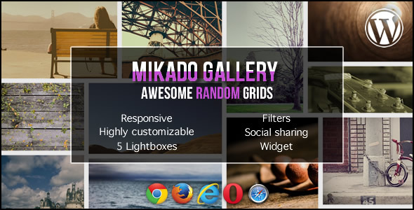 Mikado Grid Gallery for WordPress - CodeCanyon Item for Sale