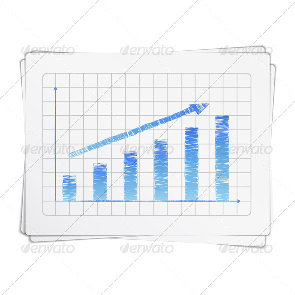 GraphicRiver Hand Drawn Bar Graph 7030454