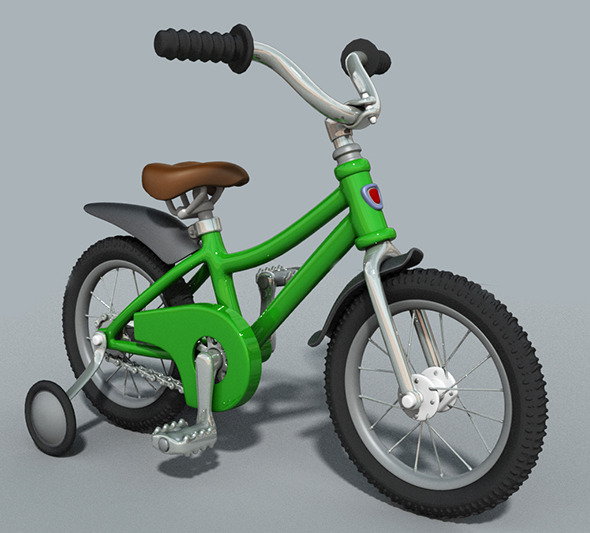 3DOcean Cartoon Bicycle 7030654