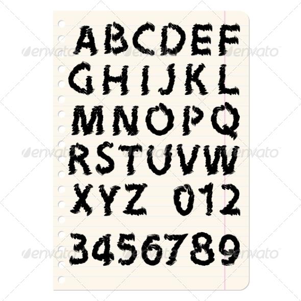 GraphicRiver Alphabet 7031049