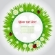 Download Vector Spring Background with Grass