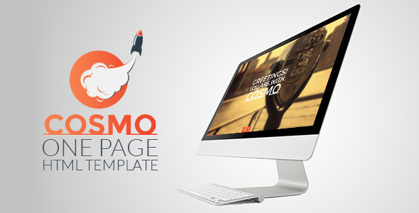 ThemeForest Cosmo HTML5 One Page Template 6965719