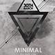 Minimal Flyer/Poster - The Dark Vibe