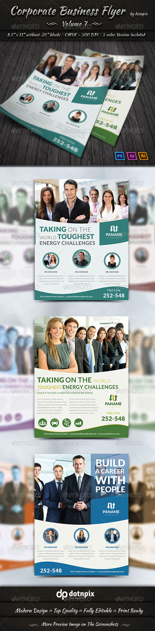 GraphicRiver Corporate Business Flyer Volume 7 7032852