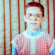 Smiling child with glasses in vintage clothes - PhotoDune Item for Sale