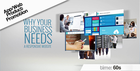 VideoHive Promotion Web App 7033669