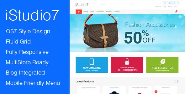 iStudio 7 : Premium Responsive Magento Theme