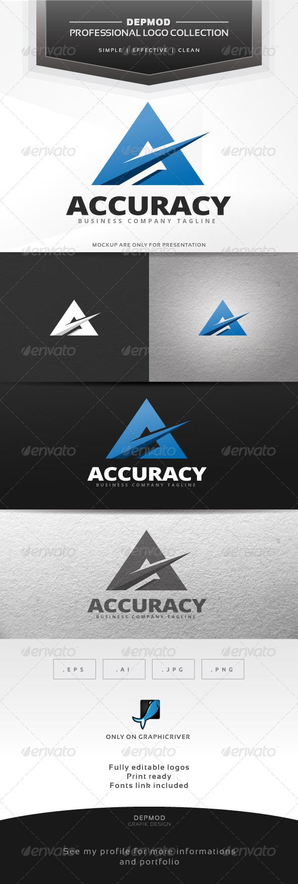 GraphicRiver Accuracy Logo 7033988