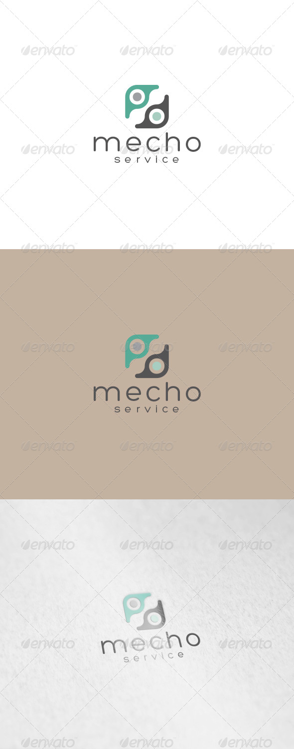 GraphicRiver Mecho Logo 7034028