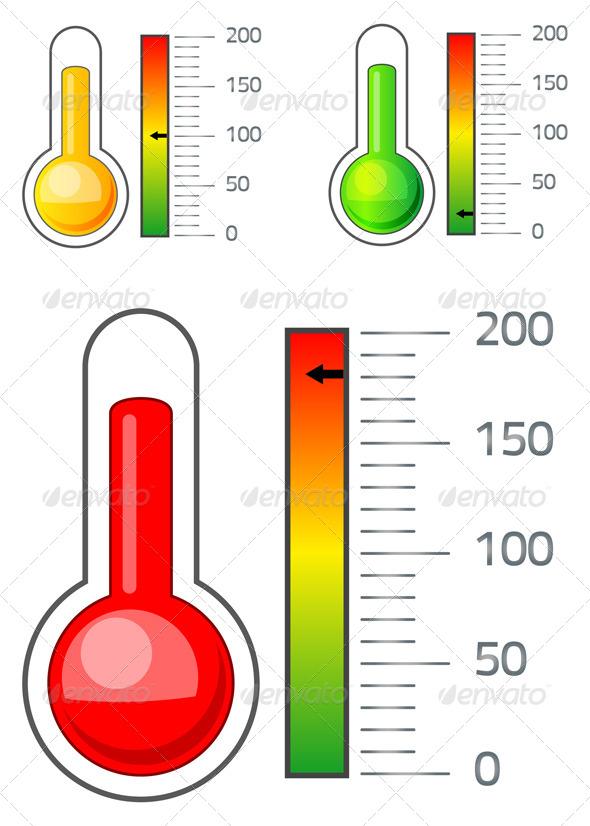 GraphicRiver Thermometer Icon 7034049