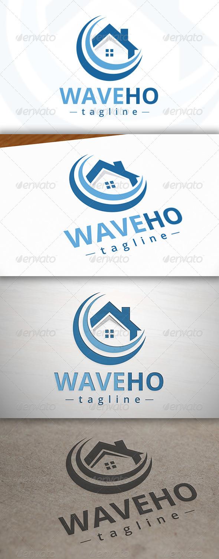 GraphicRiver Wave Home Logo 7034922