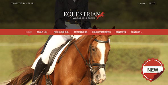 Equestrian WordPress Theme - Miscellaneous WordPress