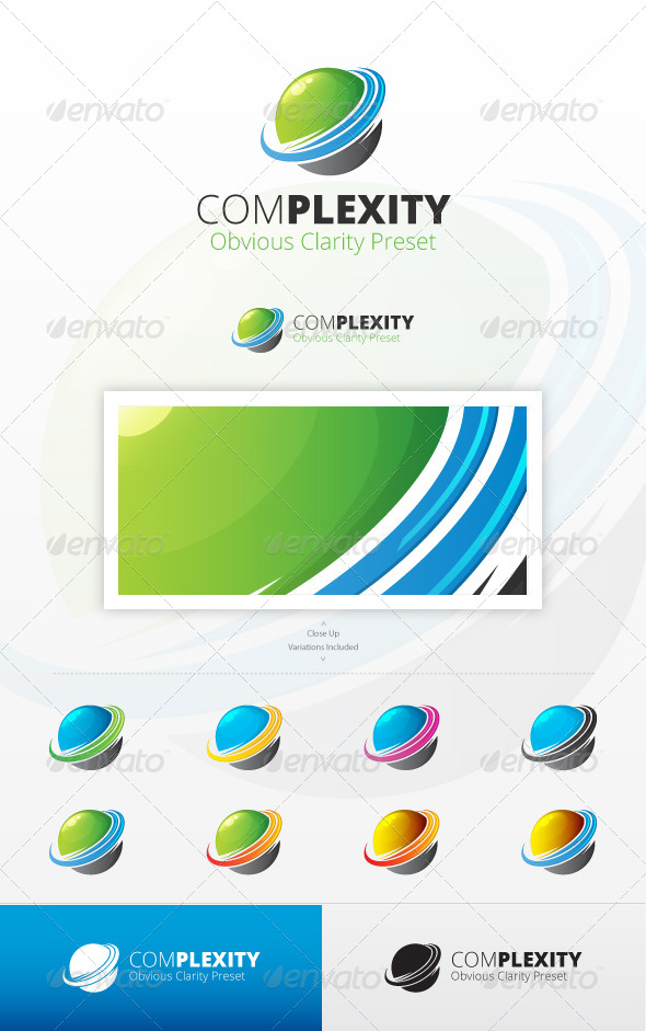 GraphicRiver ComPlexity Logo 7035111