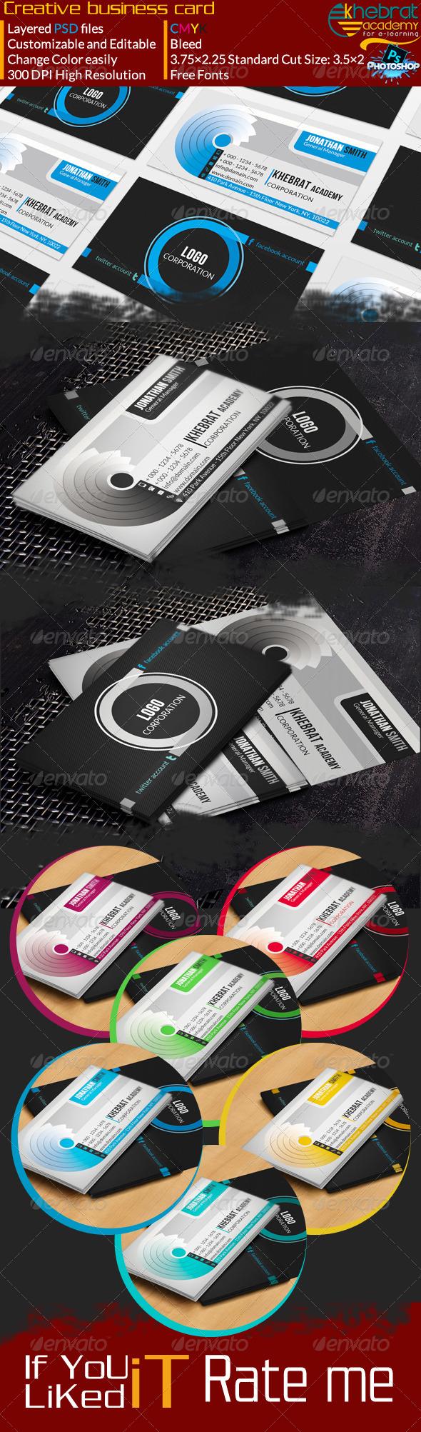GraphicRiver Creative Business Card V01 7035230