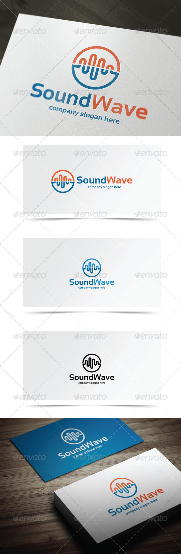 Sound Wave - Symbols Logo Templates