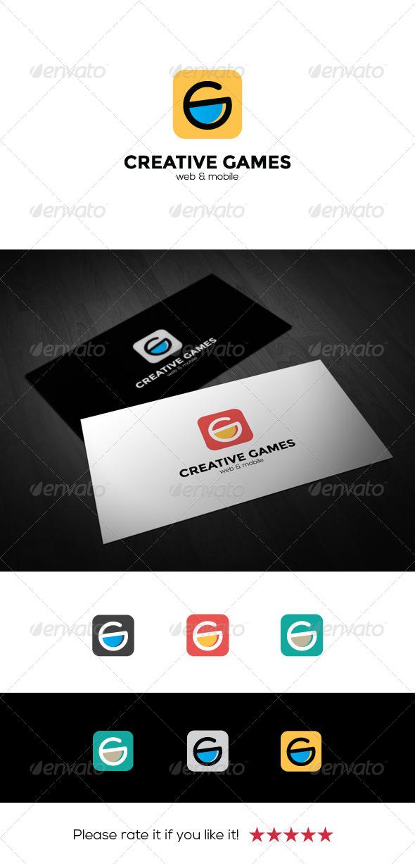 GraphicRiver Creative Games Logo 7035599