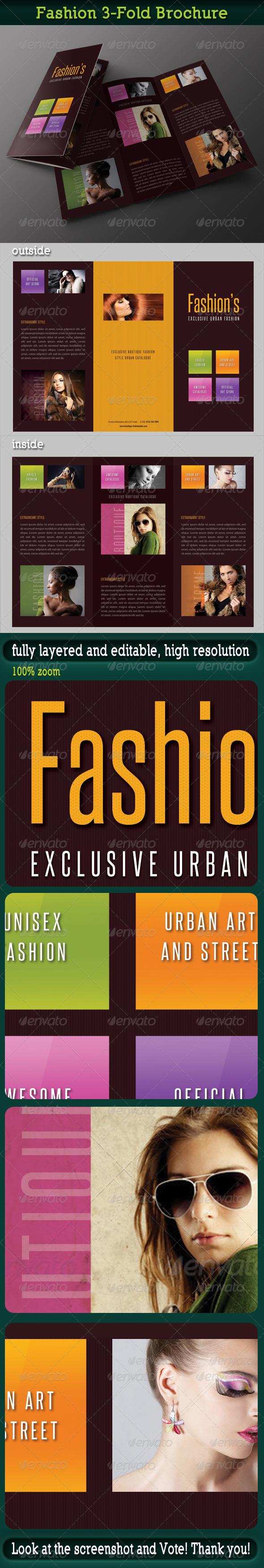 GraphicRiver Fashion 3-Fold Brochure 18 7035634