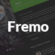 Fremo - Responsive vCard & Portfolio Template - ThemeForest Item for Sale