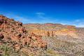 Fallen boulders on desert hillsides - PhotoDune Item for Sale