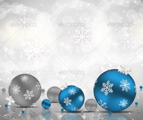 GraphicRiver Abstract Christmas and New Year Background 7035871
