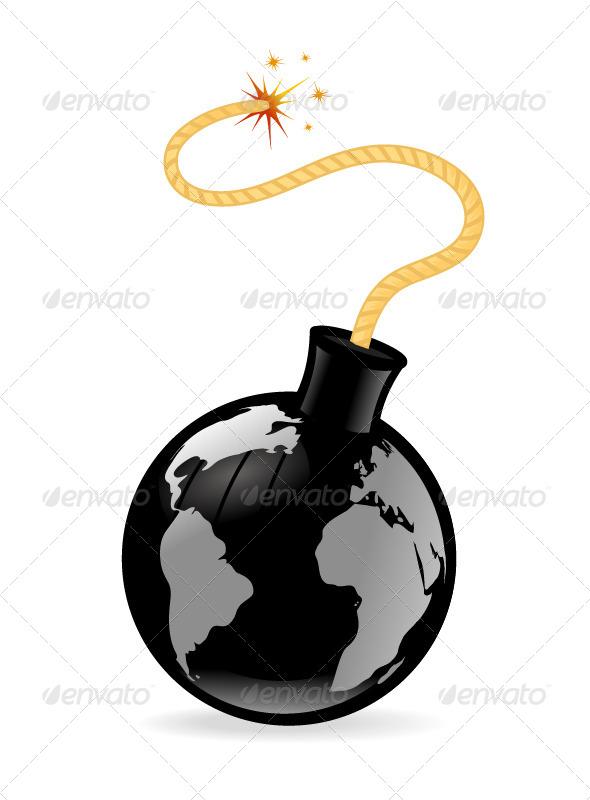 GraphicRiver Globe Bomb 7035873