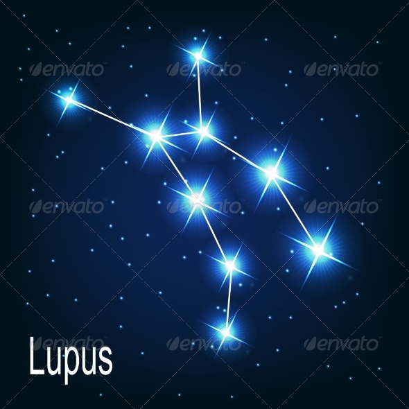GraphicRiver The Constellation Lupus 7035883