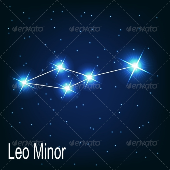 GraphicRiver The Constellation Leo Minor 7035894