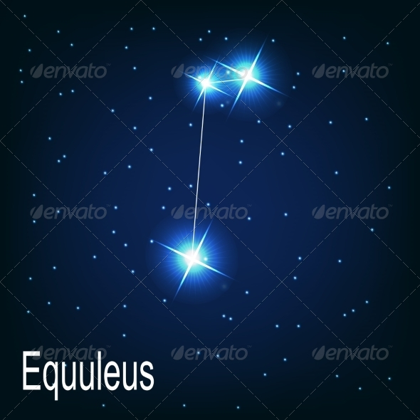 GraphicRiver The Constellation Equuleus 7035898