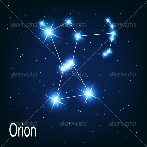 GraphicRiver The Constellation Orion 7035903