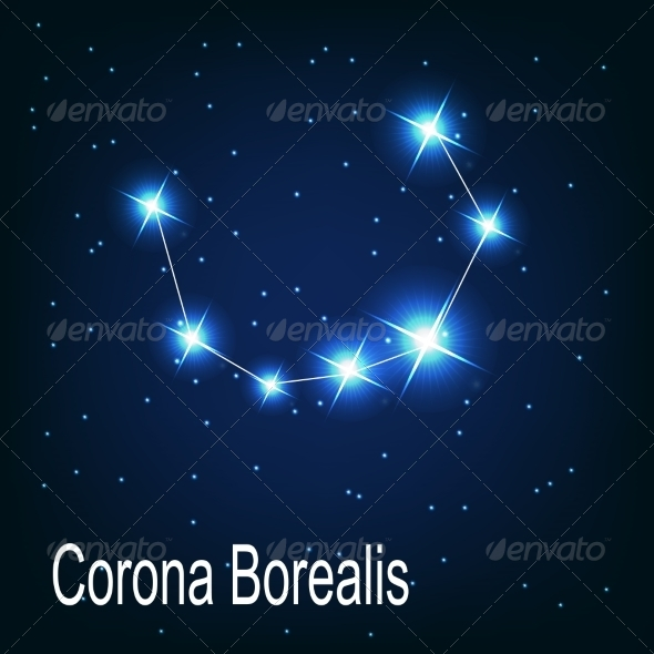 GraphicRiver The Constellation Corona Borealis 7035909