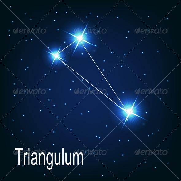 GraphicRiver The Constellation Triangulum 7035913