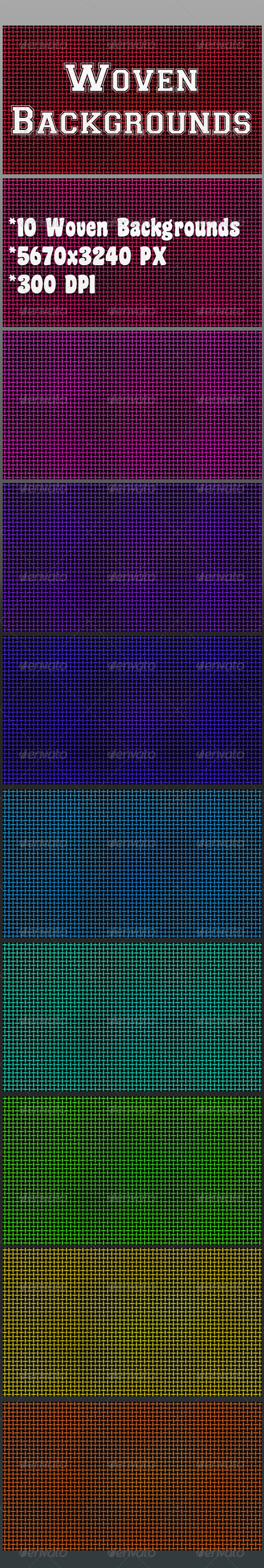 GraphicRiver Woven Backgrounds 7036042