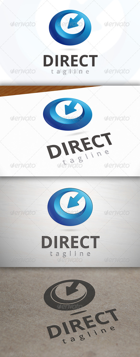 GraphicRiver Direct Media Logo 7036422