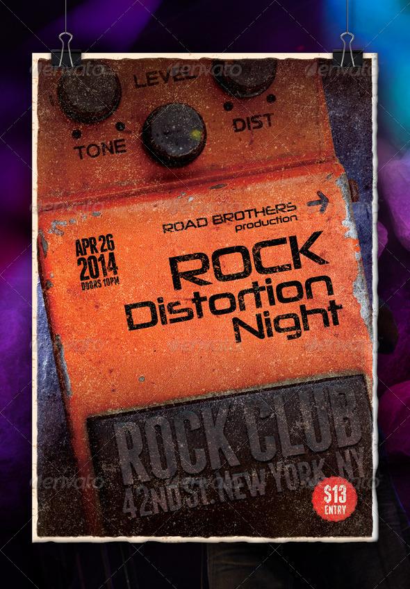 GraphicRiver Hard Rock Poster Vol1 7036529