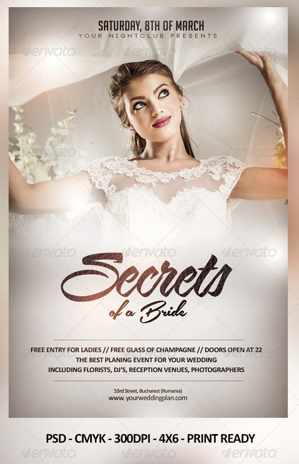 GraphicRiver Secrets of a Bride 7036533