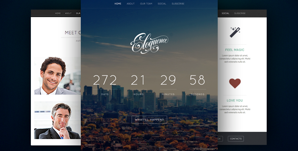 Eloquence - Coming Soon Page