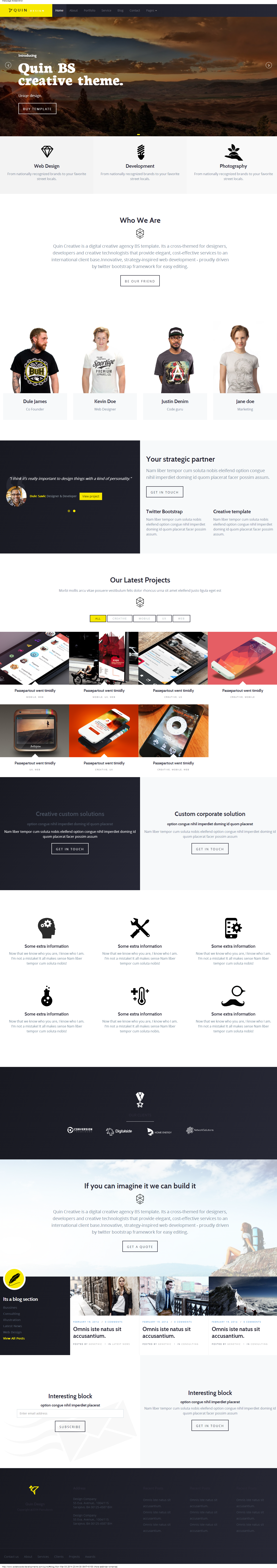 Quins - BS Creative WordPress Themes