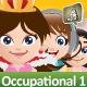 Manga Girl Mascot Creation Kit - Occupational Set - GraphicRiver Item for Sale