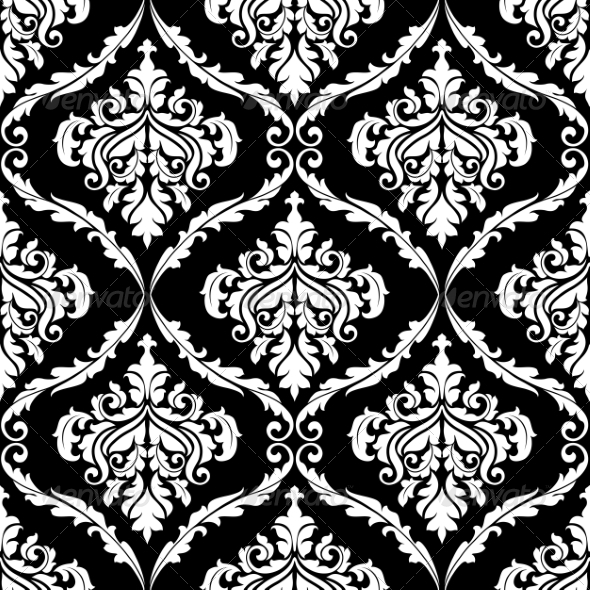 GraphicRiver Damask Pattern 7039368